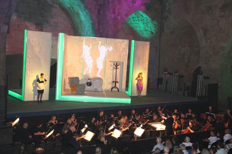 היסטוריה ומוזיקה. מופע בעכו | צילום: באדיבות עיריית עכו