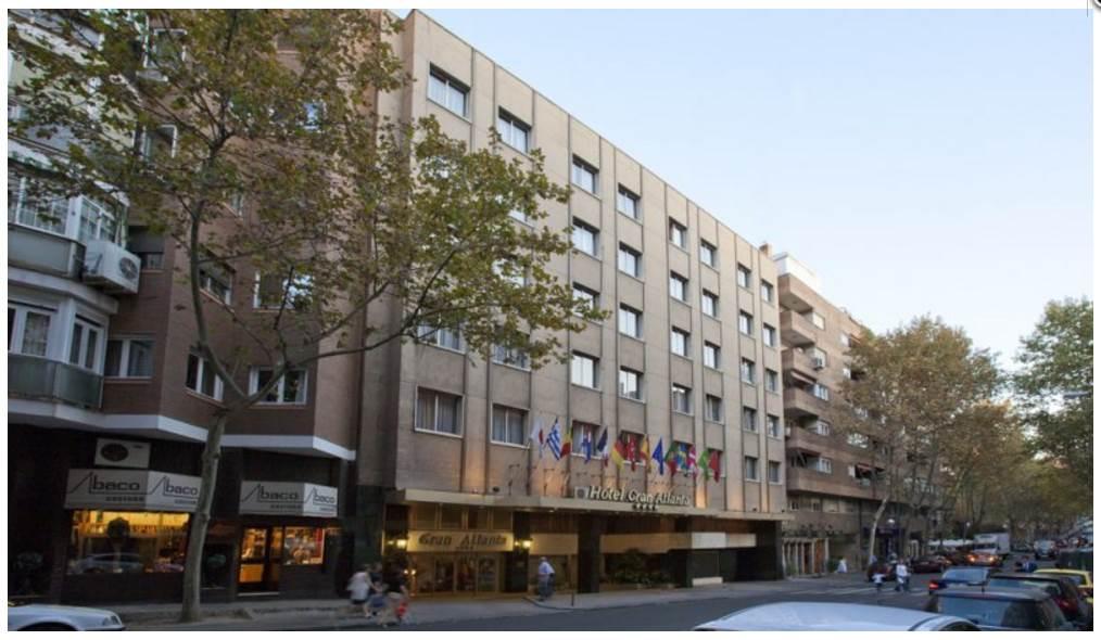 מלון Gran Atlanta במדריד|צילום מסך: hotelgranatlanta.com/en/