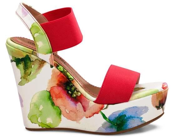 הצבעוניות חזקה. נעלי גלי | צילום: ירון ויינברג
