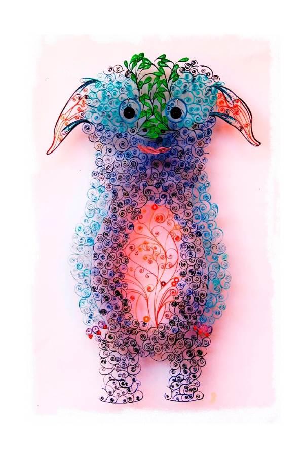 יצורים-מנייר|צילום: שרי וורטמן