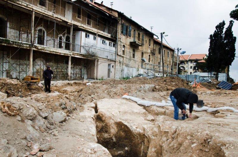 היה היה. החפירות במתחם שנלר. |צילום: באדיבות רשות העתיקות
