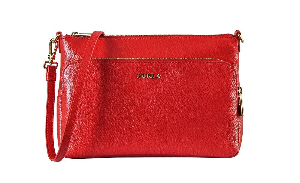 פורלה FURLA תיק דגם ROYAL צבע אדום   צילום יחצ חול