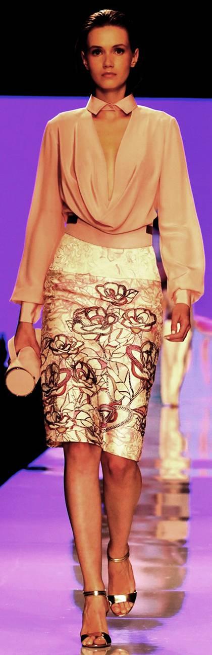 שי שלום בשבוע אופנה גינדי תל אביב|צילום: אבי ולדמן
