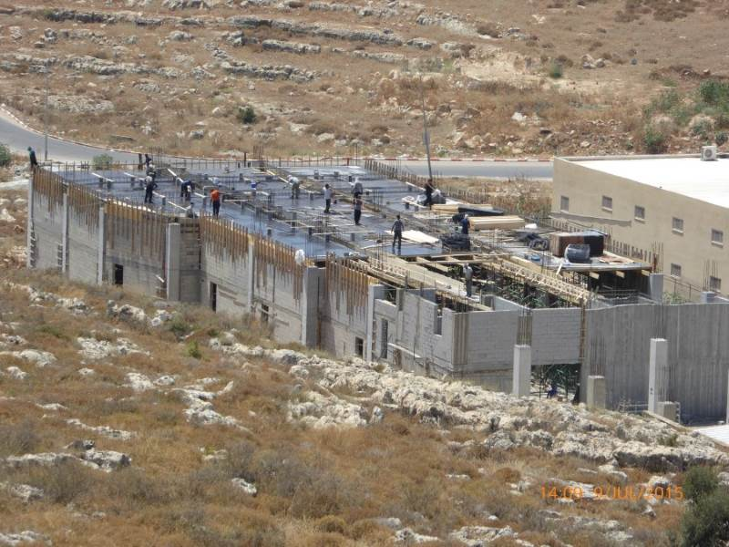 מאבק בבניה בלתי חוקית|צילום: רשות מקרקעי ישראל