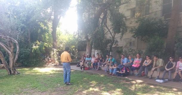 התקדמות לאומית. סיור בנושא בנייה ירוקה|צילום: המועצה הישראלית לבנייה ירוקה