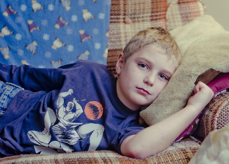 ארגוני המעסיקים תמכו. ילד חולה|צילום: pixabay.com