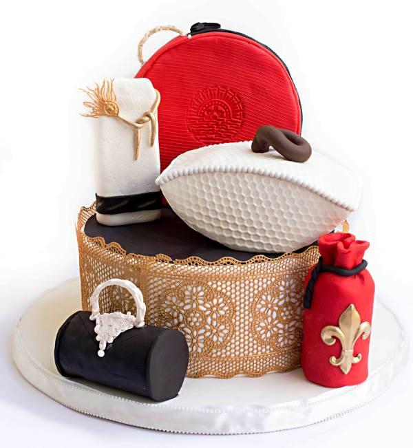 עוגות מארזי קוסמטיקה|צילום: יפעת פרי דפנא