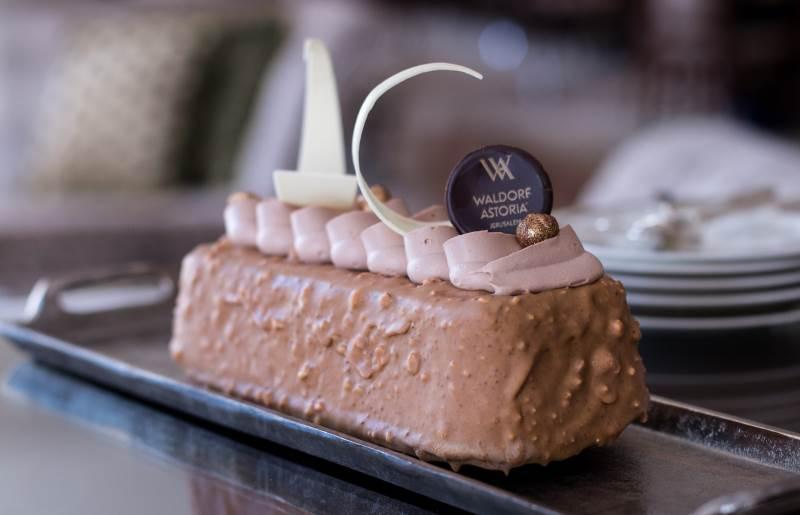 מבוססת עוגת השוקולד המפורסמת והאגדית של בוטיק השוקולד הצרפתי, 'La Maison du Chocolat'. בתמונה: העוגה | צילום: אתי נמיר