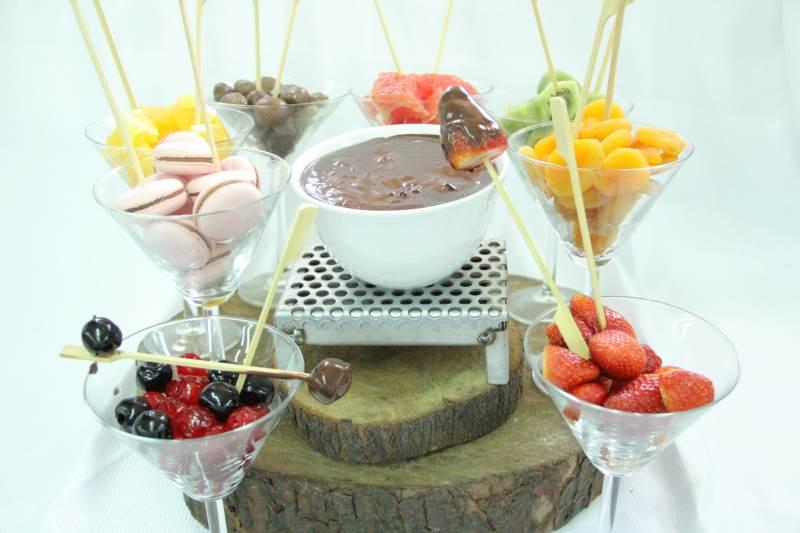 טעים. פונדו שוקולד אותו יצר שף קונדיטור ארז עמוס|צילום: עמל דכוואר