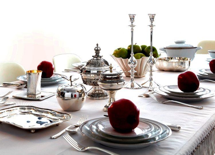 שולחן חג חדד כסף צילום עדי גלעד