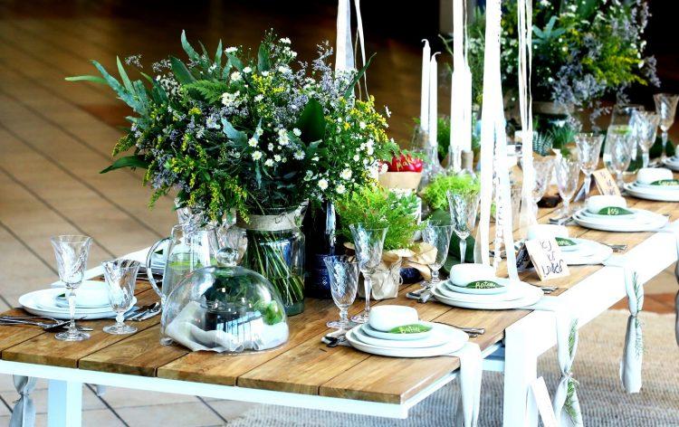 שולחן החג של אסי עזר ורותם סלע   צילום פרויקט שולחן הבית הישראלי