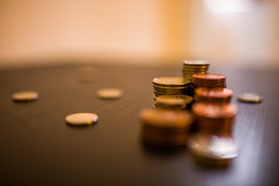 צמוד למדד. כסף|צילום: באדיבות אתר StockSnap.io