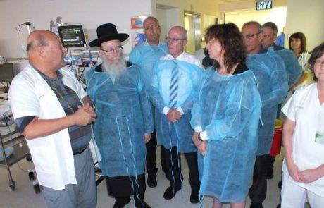 שר הבריאות: בית חולים נוסף לאזור הצפון