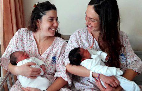 החברות הכי טובות ילדו בחדרי לידה סמוכים