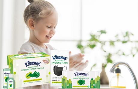Kleenex משיקה את הטרנד החדש בעולם ההגיינה