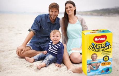 הבשורה המרעננת לקיץ: בגד ים של האגיס לתינוקות