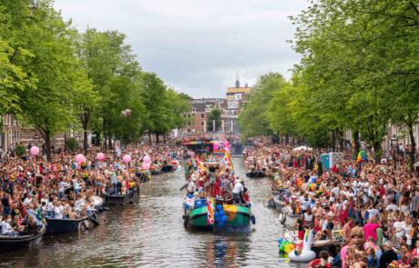 לא רק באמסטרדם: לראשונה משט גאווה בחופי ישראל