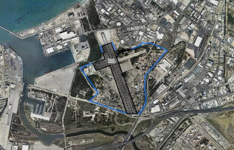 משרד הביטחון מוכר שטחים במפרץ חיפה