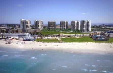 עכו: פרויקט בנייה חדש בחוף הים